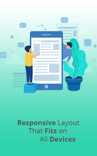 Responsive Website Design Services by Lucid Edge Tech Serv, Miraj