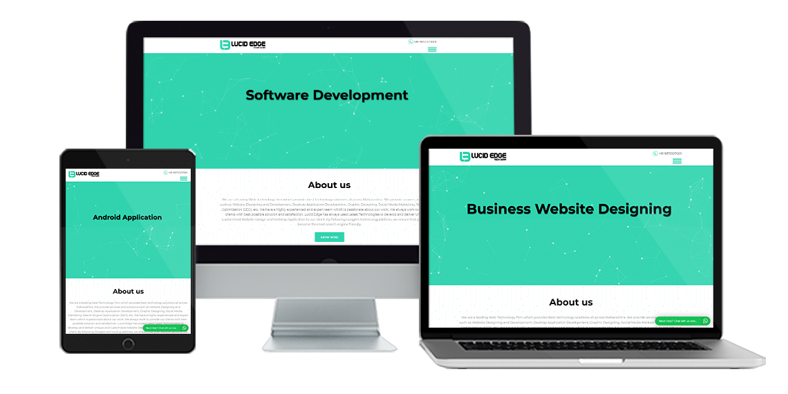 Responsive website designing, software development, android application development services in Sangli (Miraj), Maharashtra