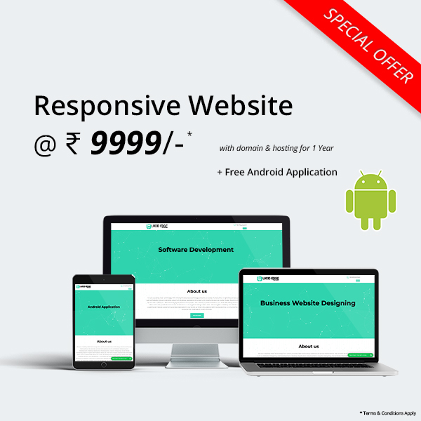 Special Offer - Responsive Website at Lowest Price