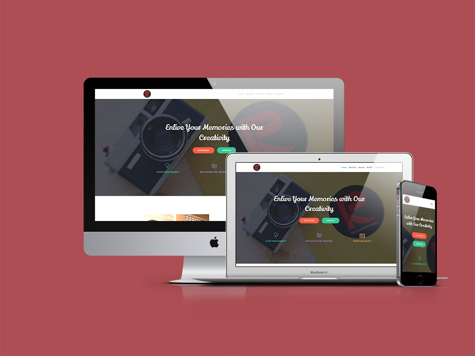 Red Feather Studios - Wordpress by Lucid Edge Tech Serv